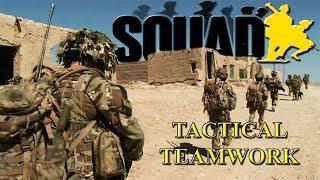 TACTICAL TEAMWORK / 40v40 Squad V12.2 Gameplay