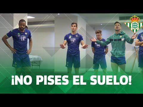 ¡Prohibido pisar el suelo! | SESIÓN DE ACTIVACIÓN | Real Betis Balompié