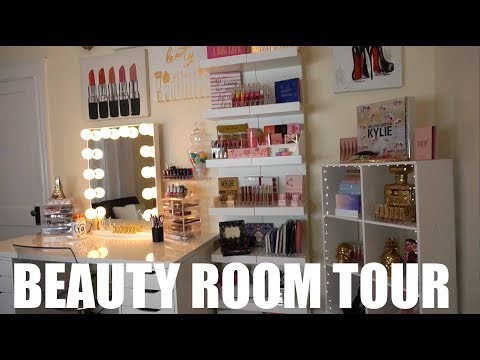 BEAUTY ROOM TOUR / MAKEUP COLLECTION 2017