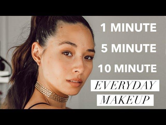 1 5 10 Minute Makeup Tutorial Quick Everyday Looks Aja Dang