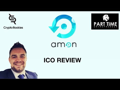 AMON ICO REVIEW the first AI crypto currency debit card