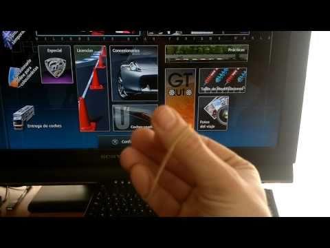 Gran Turismo 5 trucos / trampa para conseguir Cr y Exp en A-spec con TECLADO USB