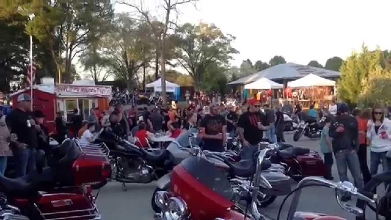 Timms Bike Night Anderson Sc 4 10 14 Youtube