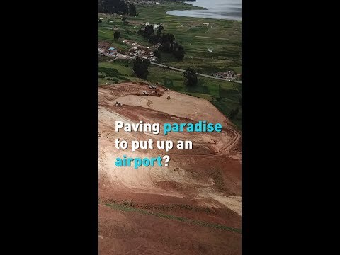 Paving paradise to put up an airport?
