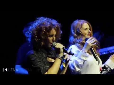 "Lena Katina ""Golden Leaves"" feat Noemi Smorra LIVE in Rome, 14-11-14"