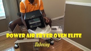 Power Air Fryer Oven Elite Unboxing