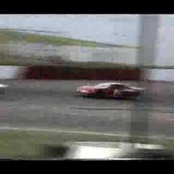 Gary Arneson Spins at Altamont Raceway
