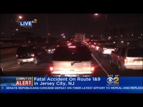 Fatal Accident On Route 1&9 in Jersey City, NJ