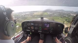Approach of Cannes airport (LFMD)