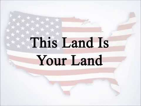 This Land Is Your Land (Lee Greenwood with Lyrics, Contemporary)