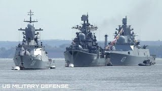 NATO Warships in Black Sea Start War Games, NATO Warns Russia with Military Drill