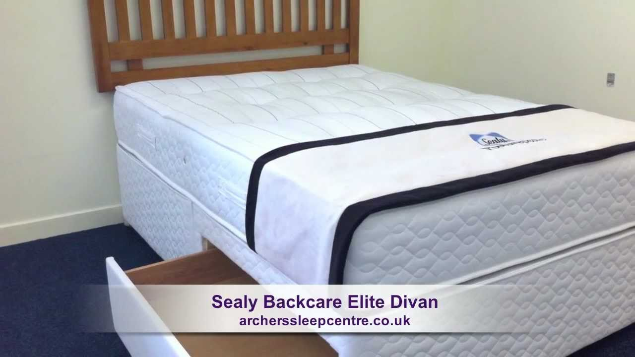 Sealy Posturepedic Backcare Elite Mattress Sealy Backcare Elite Divan
