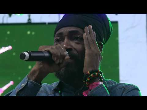 Lutan Fyah whole show Reggae on the River August 6, 2017