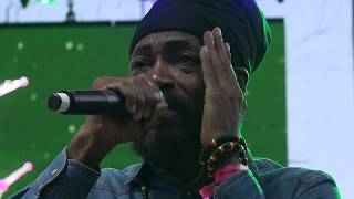 Lutan Fyah whole show Reggae on the River August 6 2017