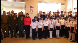 Памятный стенд погибшим воинам-интернационалистам открыли в школе №16 села Цибанобалка(, 2015-02-18T07:48:43.000Z)