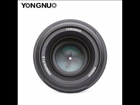 Обзор и тестовые фото объектива YONGNUO 50 Mm F1.8 Nikon F