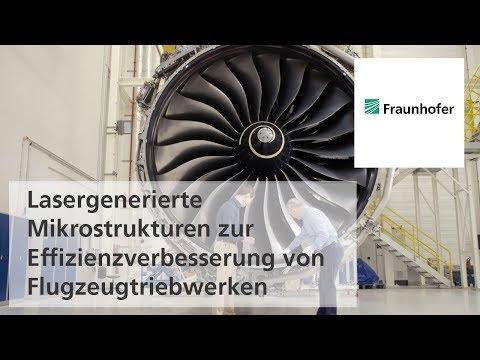 Lasergenerierte Mikrostrukturen Zur Effizienzverbesserung Von Flugzeugtriebwerken