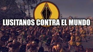 """JUGANDO Rome 2 Total War - """"Lusitanos contra el Mundo"""""""
