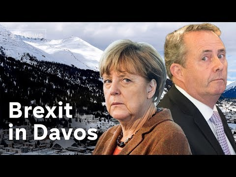 Brexit and globalisation dominate Davos