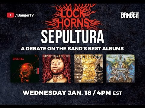 Sepultura Album Debate with guest Danko Jones | LOCK HORNS episode thumbnail