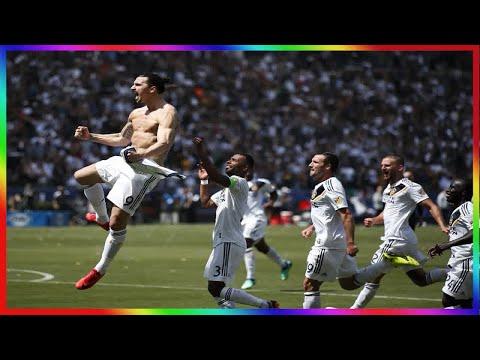 Ibrahimovic marque un but sublime 7minutes après son entrée en MLS