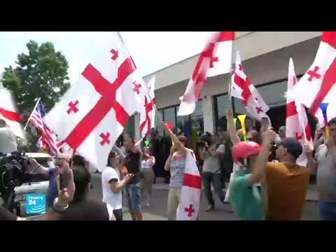 آلاف المتظاهرين في جورجيا رغم وعود الحكومة بتعديل النظام الانتخابي  - 14:54-2019 / 6 / 25