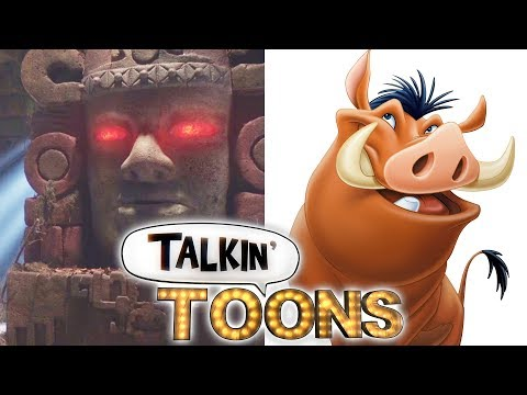Dee Bradley Baker Mashes up Lion King & Legends of the Hidden Temple! (Talkin' Toons w/ Rob Paulsen)