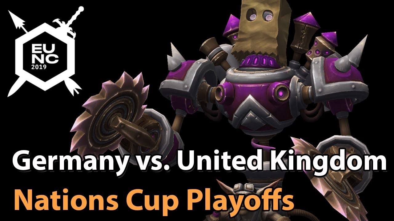 ► Germany vs. United Kingdom - Nations Cup Semifinals - Heroes of the Storm Esports