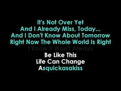 Brad Paisley Today karaoke  | Golden Karaoke