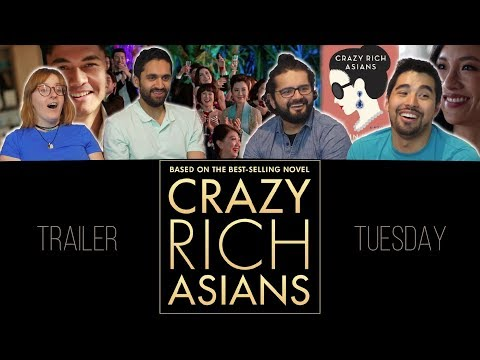 Crazy Rich Asians (Movie Trailer) - Group Reaction