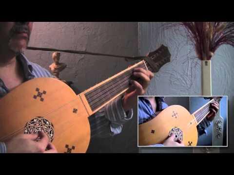 Fantasia V (Luis Milán-1536 & Rómulo Vega-González-1994) vihuela duo/duet