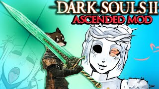 THE REAL MOONLIGHT GREATSWORD BUILD - DS2 Ascended Mod Funny Moments PART 11