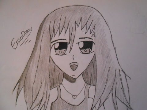Dessiner un manga tuto draw facile youtube - Dessiner un manga facilement ...