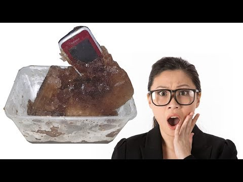 Nokia C1-01 Coca Cola Freeze Test 17 Hours - Shocking Result