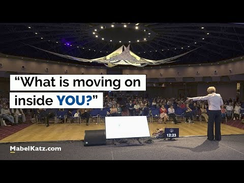 """What is moving on inside YOU?"" · Mabel Katz at ITC Conference · Czech Republic, 2017"