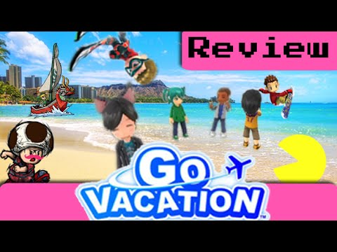 Go Vacation Review (Wii)