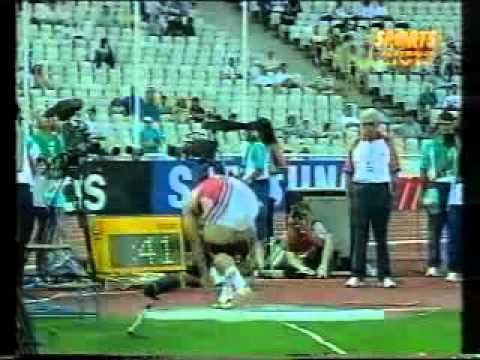 1997 IAAF World Championships Mens shot put Final