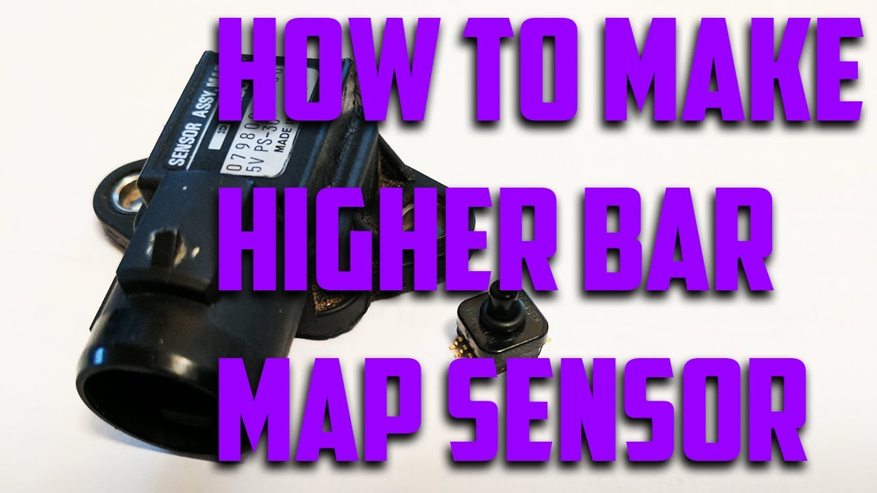 How to make stock MAP sensor read higher boost!