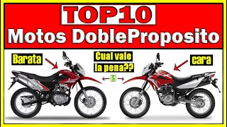 TOP 10 MOTOS Enduro/On-off/DobleProposito/Mixto 👉2020 ⏩De 125cc a 200cc⏪ 👉0KM