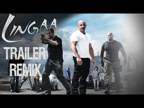 Lingaa Trailer Remix | Fast and Furious | LINGAA | REMIX