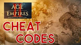 CHEAT CODES |  Age of Empires II: Definitive Edition 2019