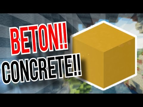 beton bl cke craften beton f rben tutorial minecraft asurekazani. Black Bedroom Furniture Sets. Home Design Ideas