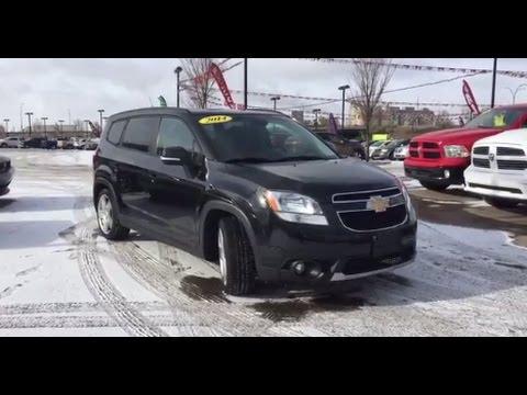 2014 Chevrolet Orlando LT  2.4L I4  Automatic  Crosstown Auto Centre
