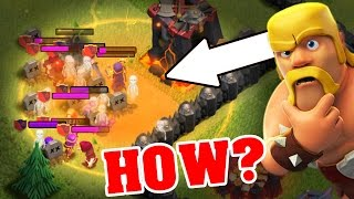 HOW TO USE THE POISON SPELL AFTER 2016 UPDATE!! Clash Of Clans UPDATE HOW TO STRATEGY!
