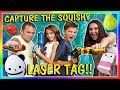 CAPTURE THE SQUISHY LASER TAG | We Are The Davises