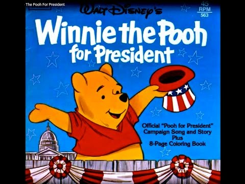 Larry Groce And Sterling Holloway   Winnie The Pooh For President