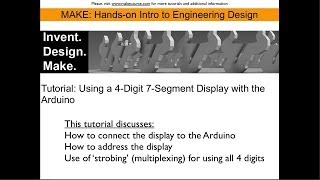 Tutorial: Controlling a 7 Segment 4 Digit Display with the Arduino Uno