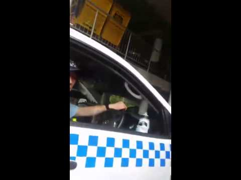 Australian Police pulls over pedestrians for breath test