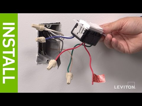 leviton presents how to install a decora digital dse06 low voltage 30 Amp Plug Wiring Diagram