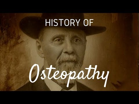 History of Osteopathy